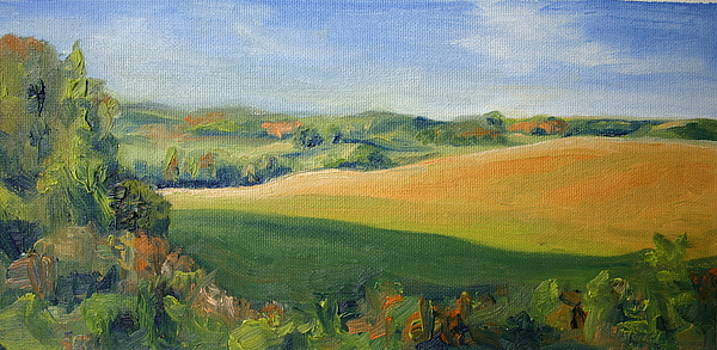 Tuscan Field by Martha Layton Smith