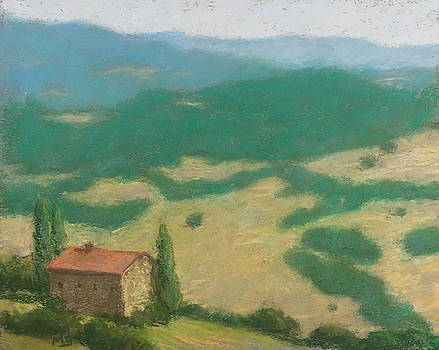 Tuscan Fields by Michael Gillespie