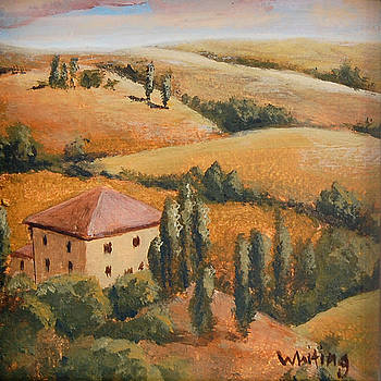 Tuscan Hills by Holly Whiting