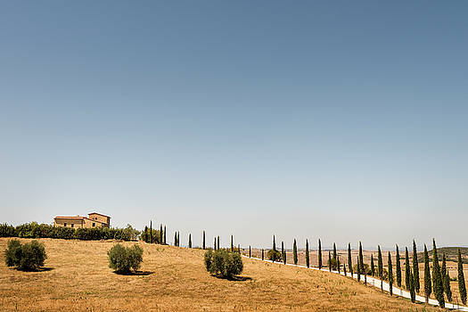 Tuscan Homestead by Niall Whelan