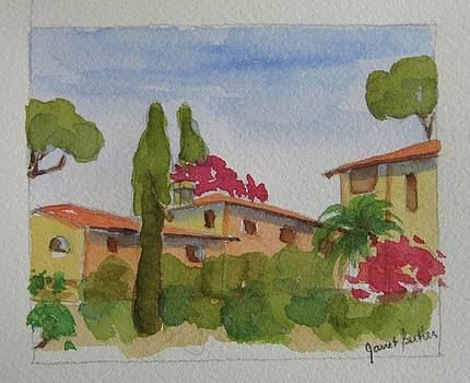 Tuscan houses by Janet Butler