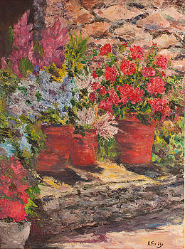 Tuscan Steps by Albert Fendig