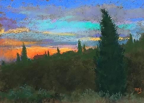 Tuscan Sunset by Michael Gillespie