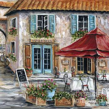 Tuscan Trattoria Square by Marilyn Dunlap