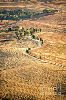 Delphimages Photo Creations - Tuscan view