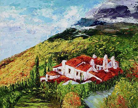 Tuscan Villa by Maria Gibbs