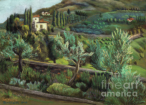 Tuscan Vista by Kelly Borsheim