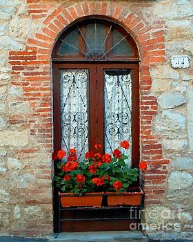 Tuscan Window by Josephine Benevento-Johnston