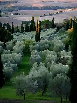 Tuscany 1 by Jarmila Gorman