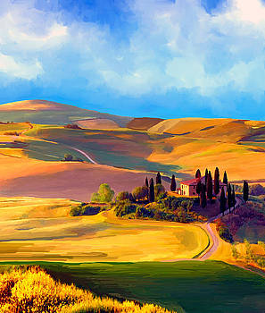 Tuscany by Ata Alishahi