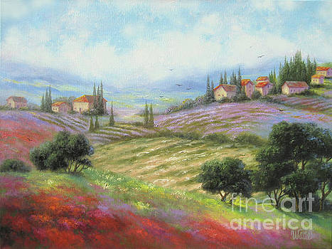 Tuscany Fields by Vickie Wade