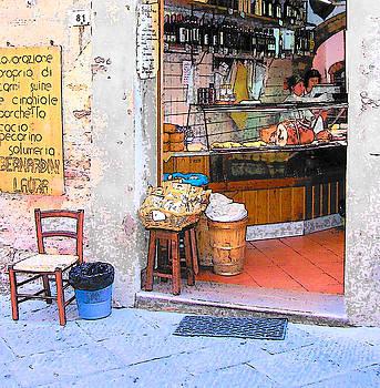 Jan Matson - Tuscany - Gourmet Shop