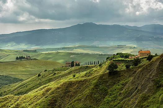 Tuscany Hills II by Claudia Moeckel