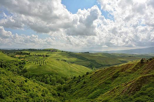 Tuscany Landscape by Joachim G Pinkawa