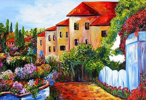 Tuscany Village by Mary Jo Zorad