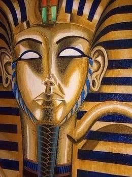 Tutankhamun Close Up by Rory Moorer