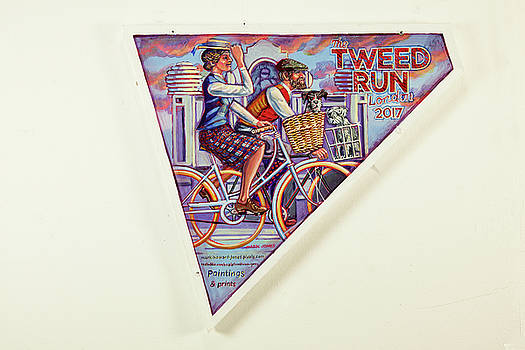 Tweed Run London Princess and Guvnor  by Mark Jones