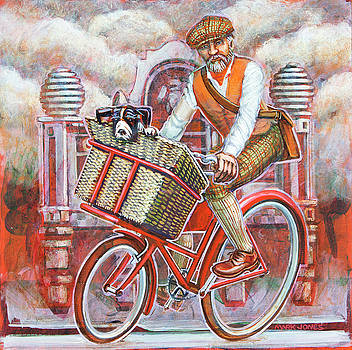 Tweed runner on Red Pashley by Mark Howard Jones