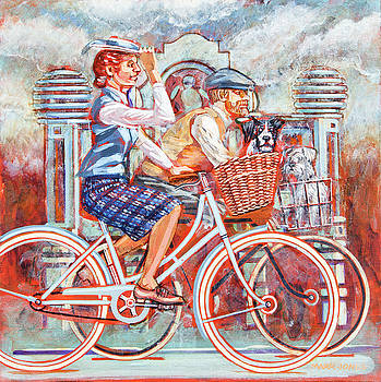 Tweed runners on Pashleys by Mark Howard Jones