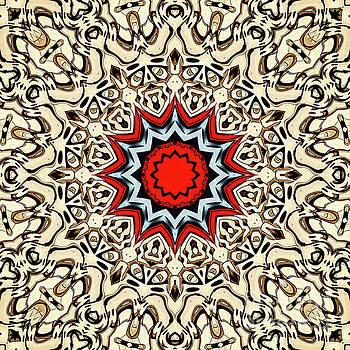 Twelve Points Mandala by Phil Perkins