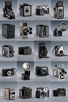 Twenty Old Cameras - Color by Art Whitton