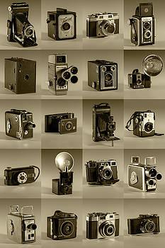 Twenty Old Cameras - Sepia by Art Whitton