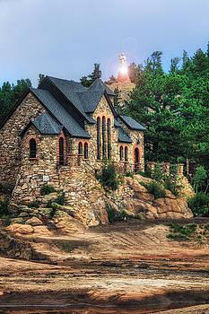 Twilight at Chapel On The Rock by Juli Ellen