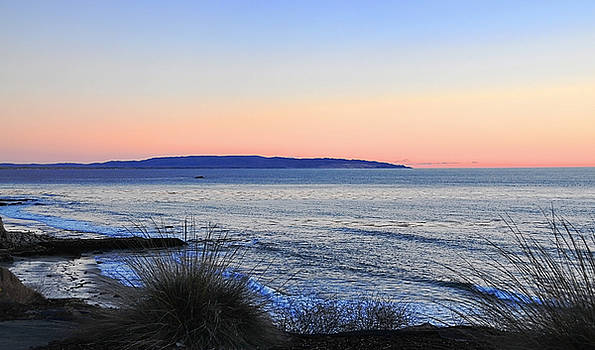 Twilight at Shell Beach by Lorrie Morrison