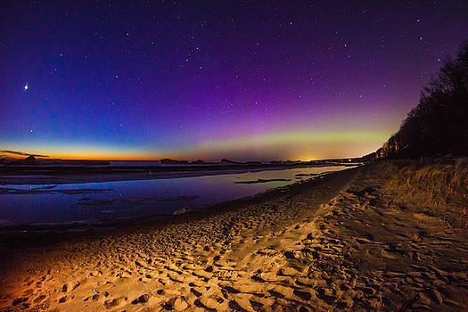 Twilight Auroras by Jackie Novak
