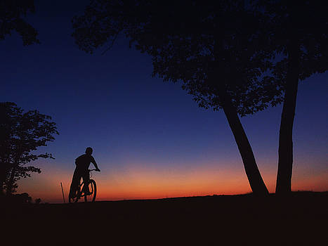 Twilight Bike Ride by Heidi Hermes