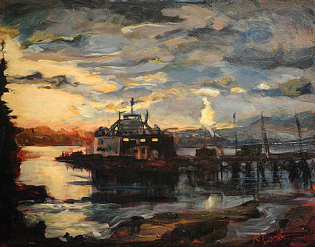 Twilight Ferry by Nanci Cook