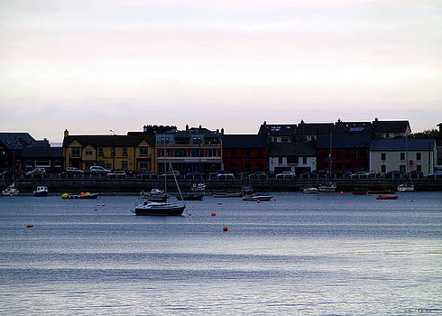 Twilight in the Harbor at Skerries by Patricia Griffin Brett