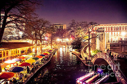 Twilight in the Riverwalk by Iris Greenwell