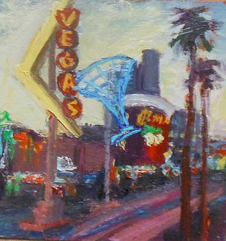 Twilight on Freemont by Kathleen Strukoff
