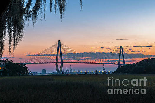 Dale Powell - Twilight over Historic Charleston South Carolina
