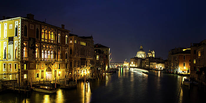 Twilight over the Grand Canal by Andrew Soundarajan
