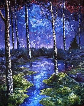 Twilight Pond  by Cassandra Gallant