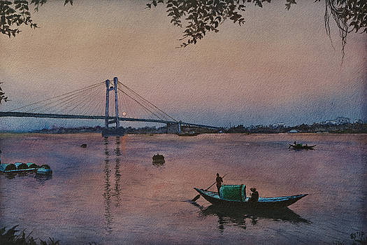 Twilight River by Sourav Bose