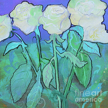 Twilight Roses by Robin Maria Pedrero