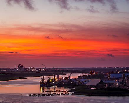 Chris Bordeleau - Twilight Ships in Port