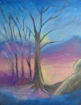 Twilight Trees by Penny Ross