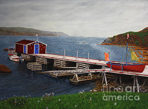 Twillingate Newfoundland by Sid Ball