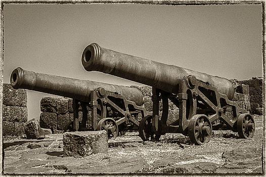 Twin Cannon by Hitendra SINKAR