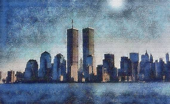 Twin Towers - in memorium by John Winner