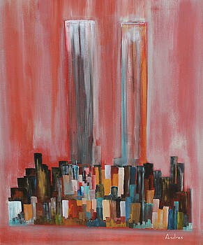 Twin Towers by Andres Gonzalez
