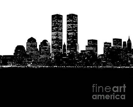 Twin Towers Remembered by Christopher Kerby