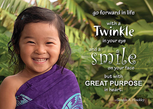 Twinkle Smile by Denise Bird