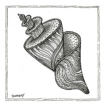Twirly Shell by Stephanie Troxell