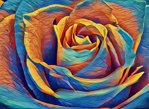 Twist On A Masterpiece 1 by Rhonda Barrett