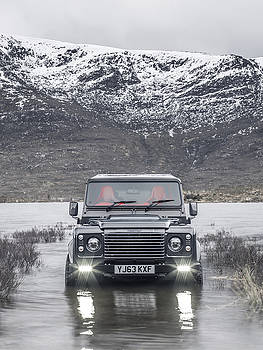 Twisted Land Rover Defender by George Williams